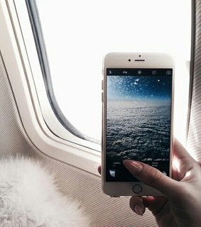 vacation, mobile phone and beauty