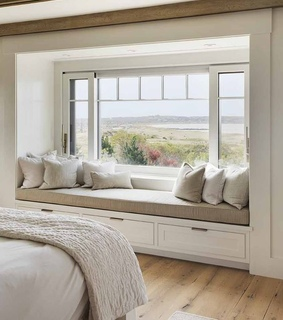 nature, white and bedroom