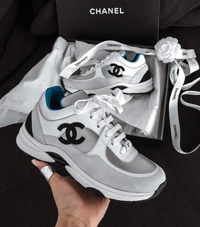 chanel, luxury and sneakers