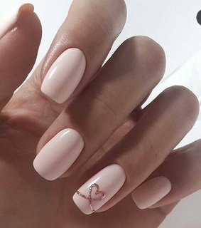 heart, lovely and nails