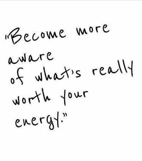 aware, energy and enjoy