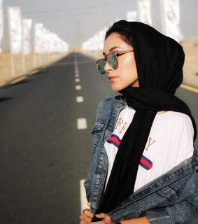 glasses, hijab and حجاب