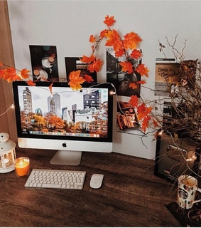 apple, autumn and bedroom