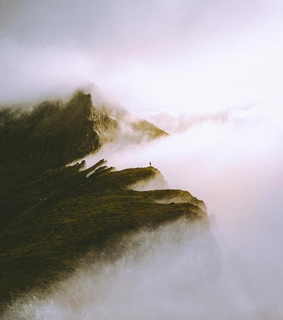 mountains, escape and mystic