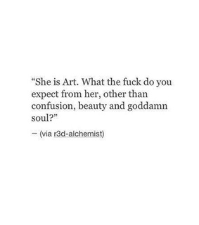 art, her and poem