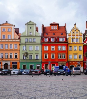 architecture, Poland and wroclaw