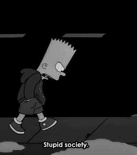alone, angry and bart