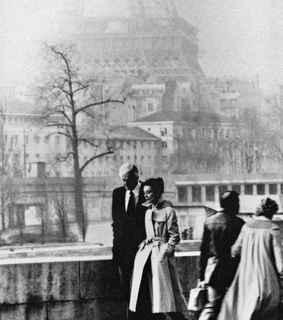 audrey hepburn, france and black and white