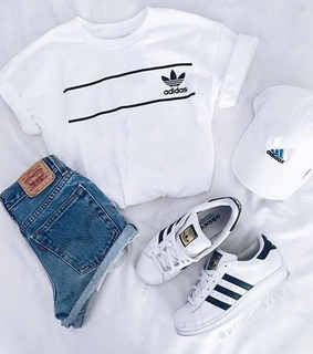 adidas, aesthetic and classy