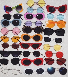 aesthetic, colorful and fashion