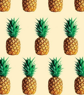 heartthis, pineapple and wallpaper
