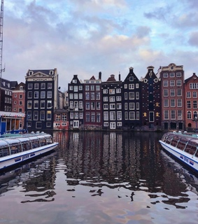 amsterdam, city and love