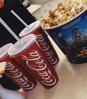 coca cola, cola and Pop cOrn