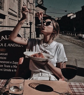 blonde, europe and food