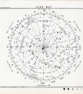 astrology, star map and stars