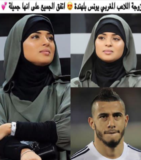 beauty, football and hijab