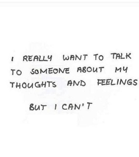 can't, someone and thoughts