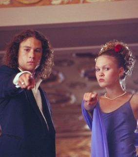 julia styles, 10 things i hate about you and heath ledger
