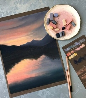 chalk, landscape and view