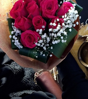beautiful, flowers and gift