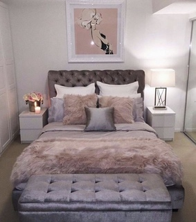 beautiful, bed and bedroom