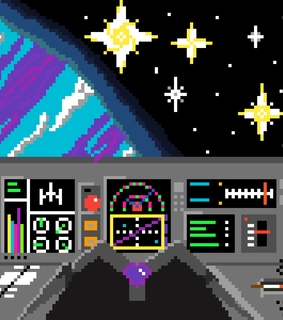 stars, aesthetic and pixel
