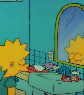 love, simpson and mirror