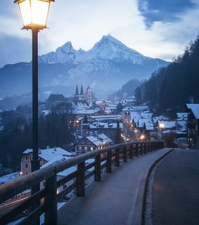 Skiing, berchtesgarden and christmas