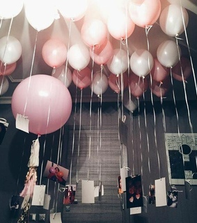 balloons, birthday and birthday party