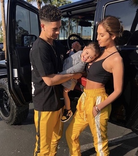ace family, ariana grande and baby