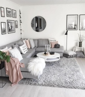 grey, aesthetic and home