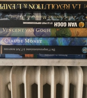 french books, indie and van gogh