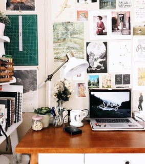 printout, cosiness and workplace
