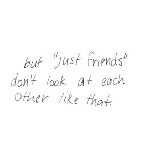 Relationship, jealous and friends