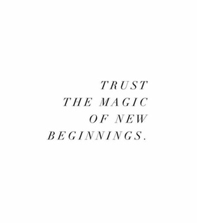 trust, beginning and new