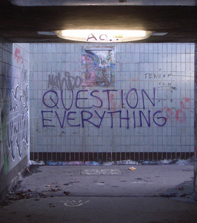 question everything, night and txt