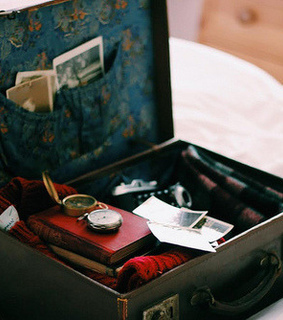luggage, packing and suitcase