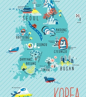 busan, seoul and picture