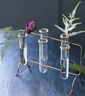 unique, chemistry and flower rack