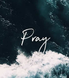 pray, words and Christ