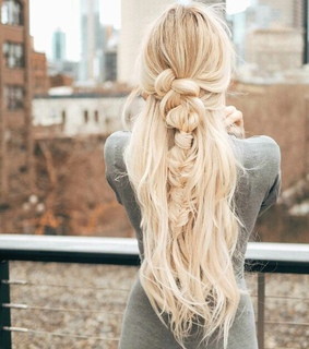 long, braid and up