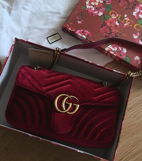 gucci, bag and pale