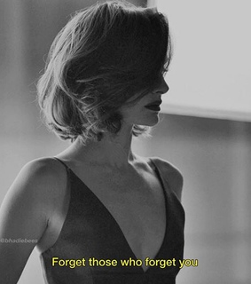 Who, black & white and forget