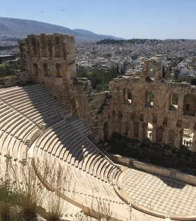 acropolis, ????? and theatre