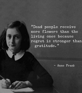 anne frank, be happy and be you