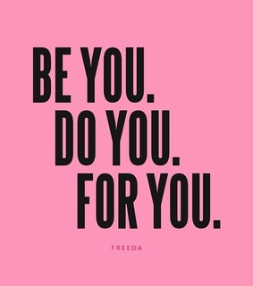 be yourself, femminism and freeda
