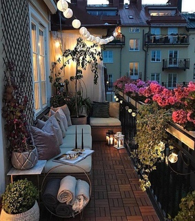 lights, perfect and balcony