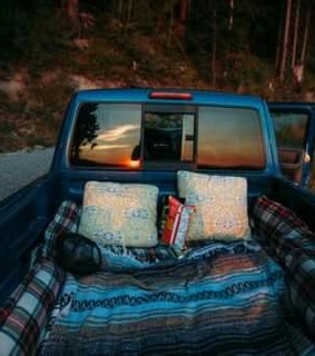 Road Trip, camping and forest