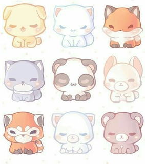 wallpaper, kawaii and Animais