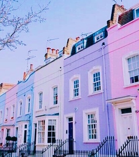pastel, wallpaper and town